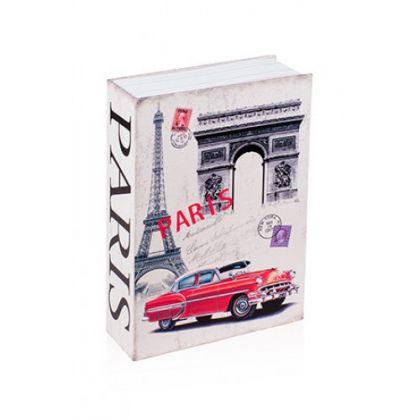 Шкатулка-книга Париж, большая