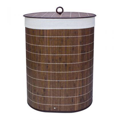 Складная корзина для белья Овал, 52 литра