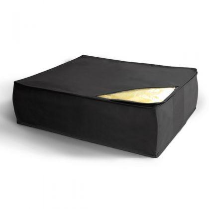 Чехол для хранения подушек и одеял 50x58x19 см, черный