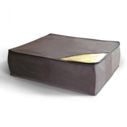 Чехол для хранения подушек и одеял 50x58x19 см, серый