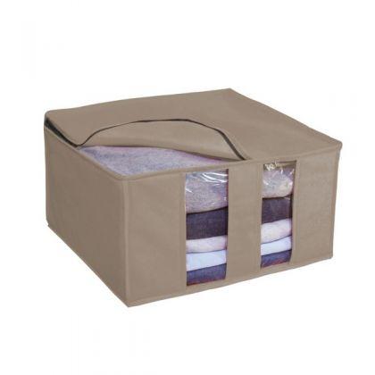 Раскладная коробка для вещей 40x40x25 см, серая