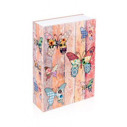 Шкатулка-книга Бабочки, большая