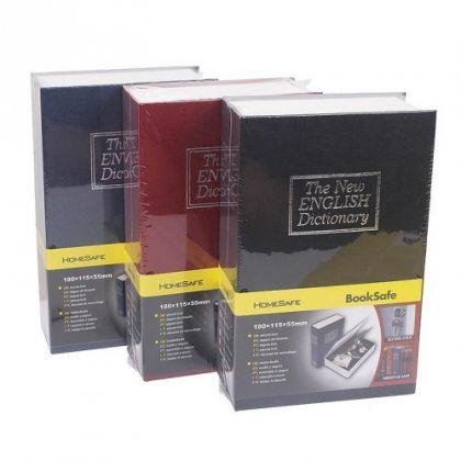 Шкатулка-книга The New English Dictionary малая, разные цвета