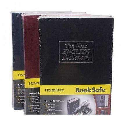 Шкатулка-книга The New English Dictionary средняя, разные цвета