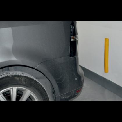 Защитная планка в гараж, 49,5 х 5 х 4 см
