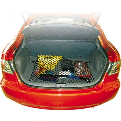 Напольная сетка эластичная в багажник 90-140 x75-110 см