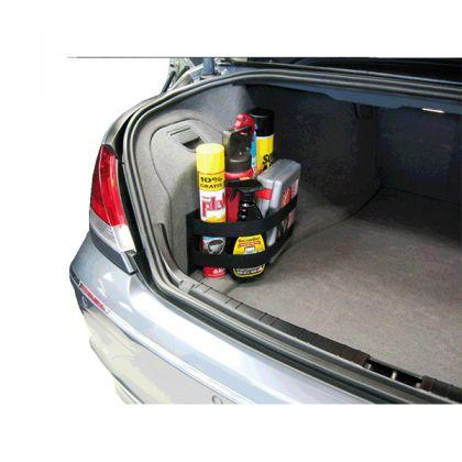 Сетка для ниши багажника, черный, 55 x 17см