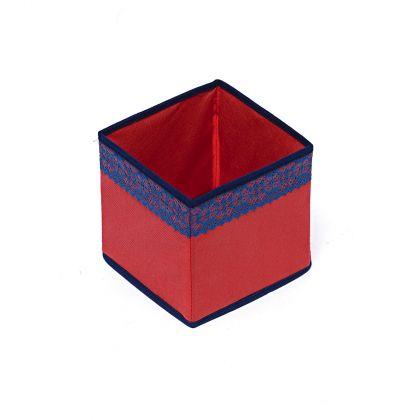 Коробка куб 17х17х17см Rosso
