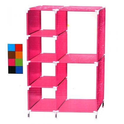 Стеллаж для хранения 70x30x113 см, разные цвета