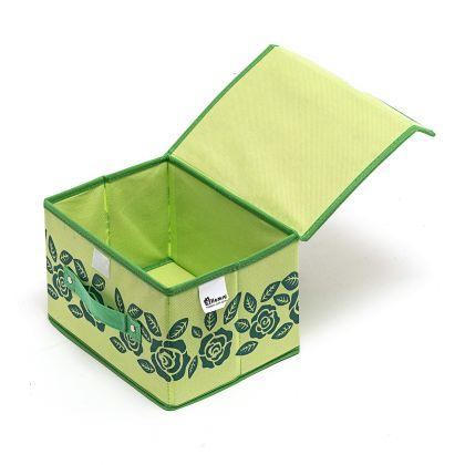 Коробка с крышкой Мятный цветок