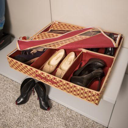 """Большой органайзер для обуви """"Престиж"""", 66 х 63 х 11 см"""