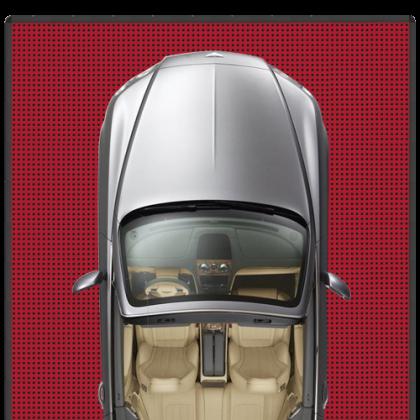 Напольное покрытие для автомобиля 3,16x5,34 м, красное