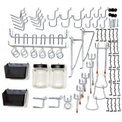 Набор крюков, подвесов и контейнеров на 43 предмета