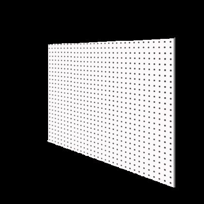 Перфопанель 122x60x0,3 см, белая