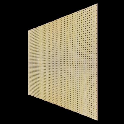 Перфопанель 122x244x0,6 см, бежевая