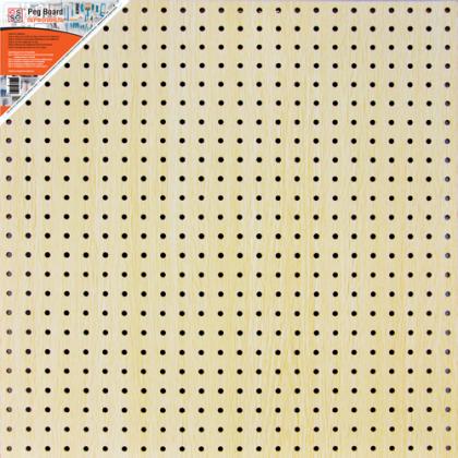 Перфопанель 60x60x0,6 см, бежевая
