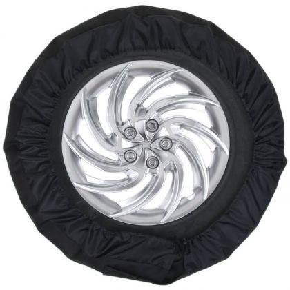 Универсальный чехол для хранения колес, черный, 28 х 13 х 3 см