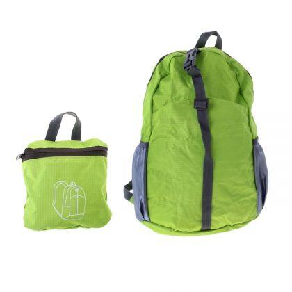 Складной рюкзак с карманами, салатовый