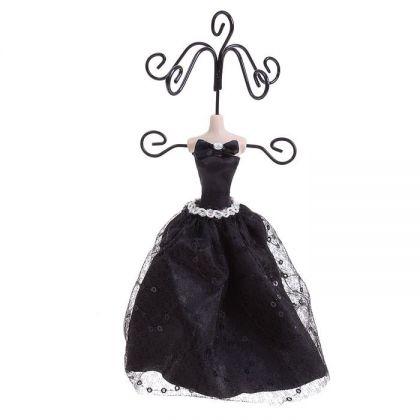 Подставка для украшений Черное платье