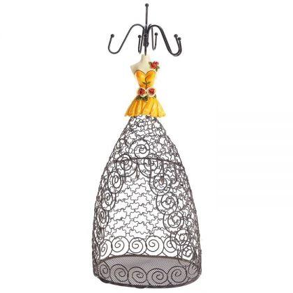 Подставка для украшений Ажурная юбка, разные цвета