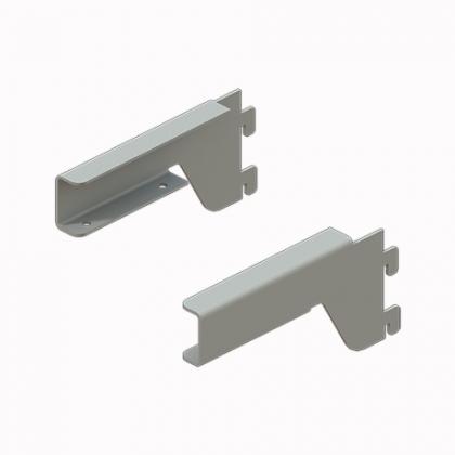 Кронштейн для полки ЛДСП пр/лев(комплект), 1 х 5 х 15 см