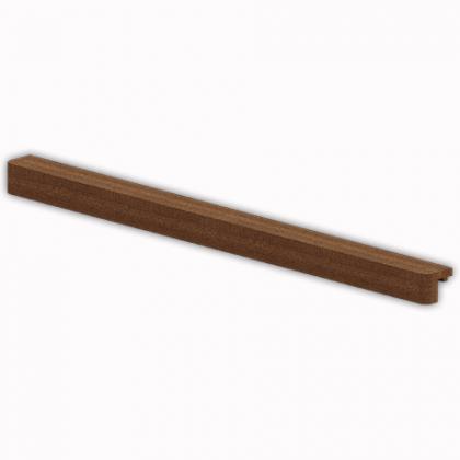 Декоративная планка проволочной полки, 60 х 3,2 х 4,6 см