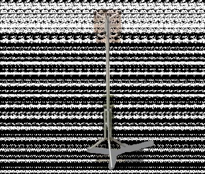 Вешалка напольная модель 10, никель