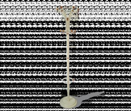 Вешалка напольная модель 13, слоновая кость