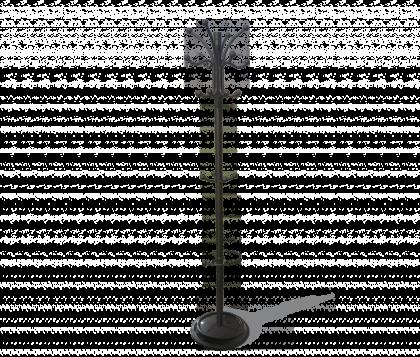 Вешалка напольная модель 14, черная матовая