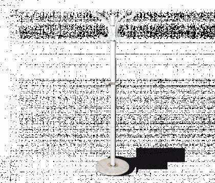 Вешалка напольная модель 30, белая