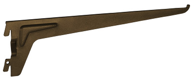 Кронштейн к стеновой стойке 400 мм, коричневый