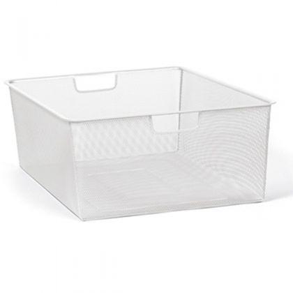 Мелкосеточная корзина, белая, 55,5 х 41 х 18,5 см