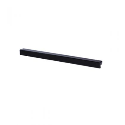 Декоративная планка для сетчатых полок 603 мм (ПАРА), черная