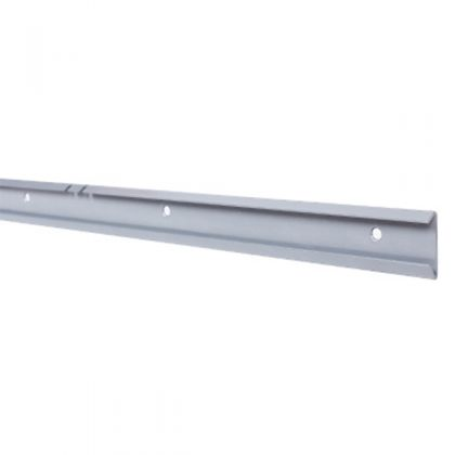 Рельс для стойки 1000 мм, блестящий алюминий