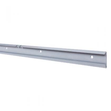 Рельс для стойки 1560 мм, блестящий алюминий
