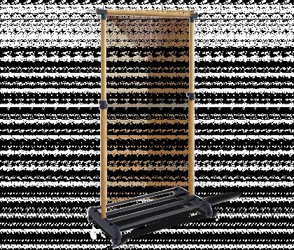 Вешалка гардеробная модель 1, светлый орех