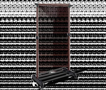 Вешалка гардеробная модель 1, темный орех
