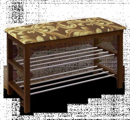 Банкетка модель 2, темный орех