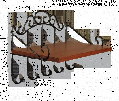 Полка настенная Изабель модель 1