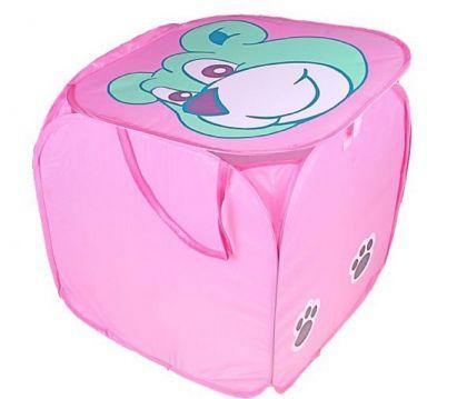 Корзина для игрушек Зеленый мишка