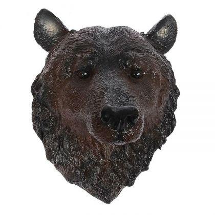 "Садовая фигура ""Голова медведя"", 24 х 31 х 44 см"