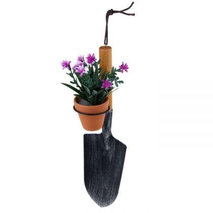 """Декор для сада """"Лопата с цветами"""""""