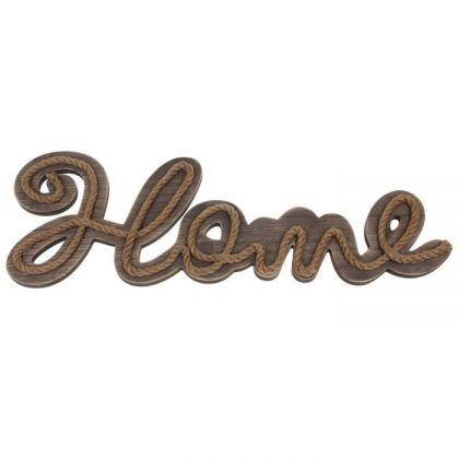 """Декор для дачи с надписью """"Дом"""""""