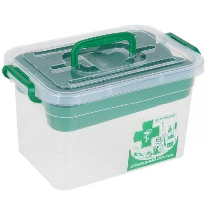 Контейнер для аптечки с вкладышем 6,5 л, 31 х 20 х 18 см