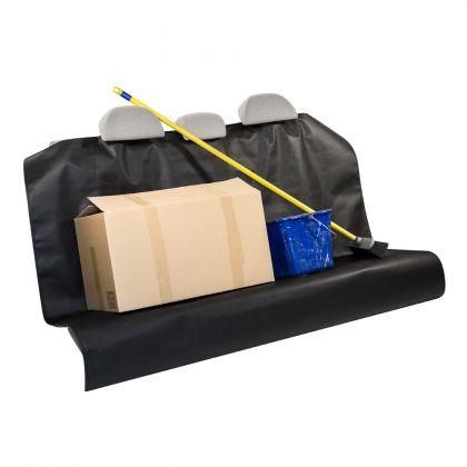 Защита для заднего автомобильного сиденья, черный, 130 х 160 см
