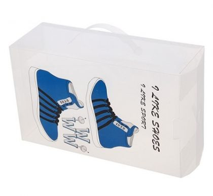Коробка для хранения спортивной обуви с ручкой