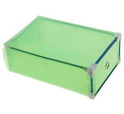 Коробка для обуви Melani, зеленая, 31×19,5 × 10,5 см