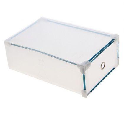 Коробка для обуви Melani, прозрачный, модель 2, 33 × 20 × 12 см