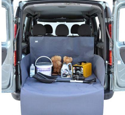 Защитная накидка в багажник XL, серый, 75 х 105 х 45 см
