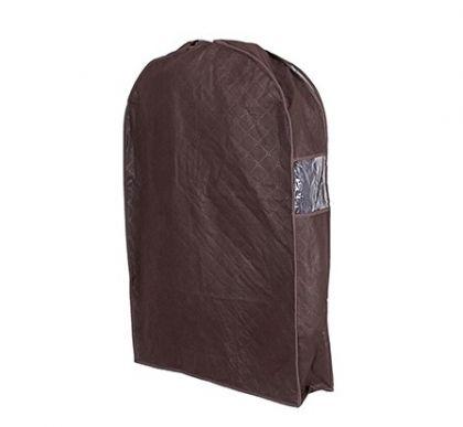 Чехол для хранения зимней одежды коричневого цвета 60смх92смх10см